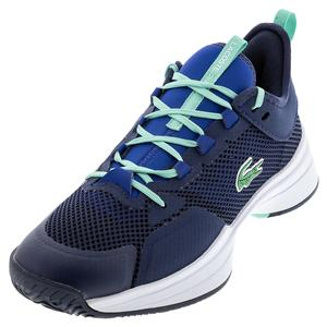Men`s AG-LT 21 Tennis Shoes Navy and Blue