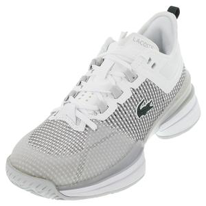 Women`s AG-LT 21 Ultra Tennis Shoes White and Light Grey