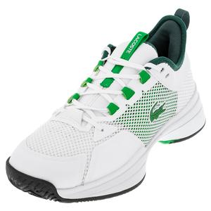 Men`s AG-LT 21 Tennis Shoes White and Green
