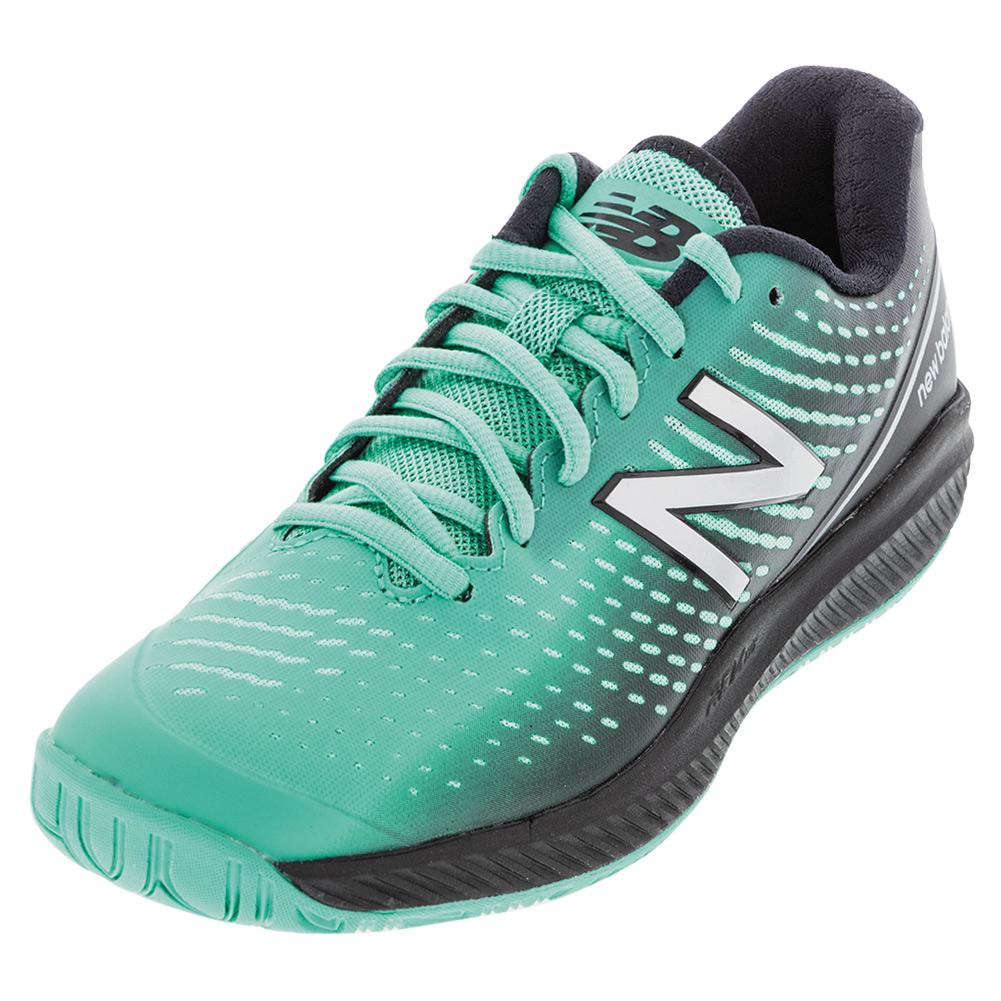 Women's 796v2 B Width Tennis Shoes Summerjade And Black