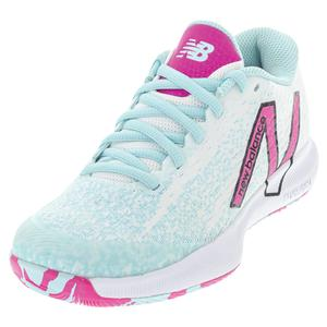 Women`s FuelCell 996v4.5 B Width Tennis Shoes White and Pink Glo