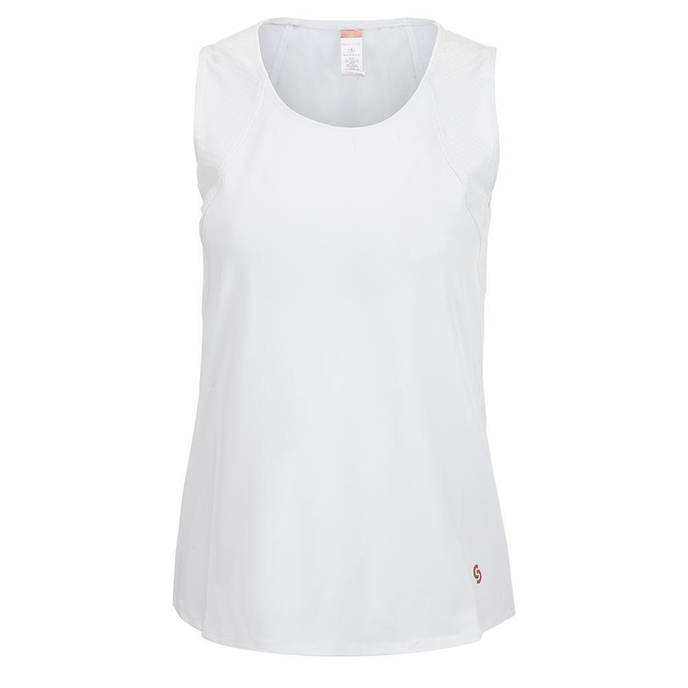 Women's Club Whites Tennis Tank White