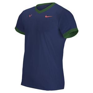 Men`s Rafa Court Dri -FIT ADV Short Sleeve Tennis Top