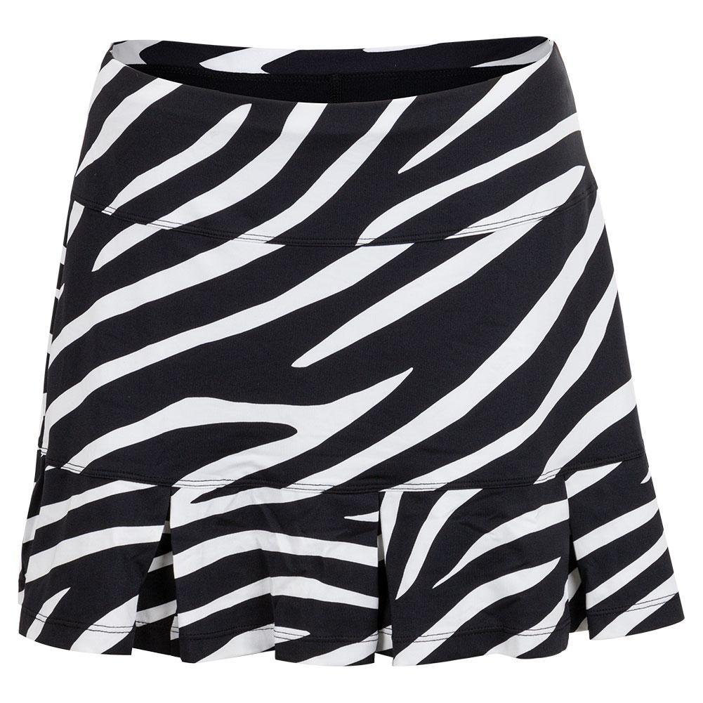 Women's Doral 14.5 Inch Tennis Skort Wild Zebra