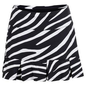 Women`s Doral 14.5 Inch Tennis Skort Wild Zebra