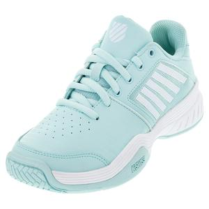 Women`s Court Express Tennis Shoes Icy Morn and White