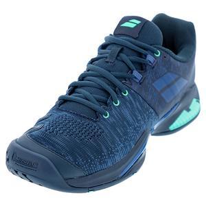 Men`s Propulse Blast All Court Tennis Shoes Dark Blue Viridian