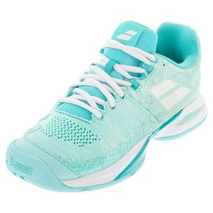 Women`s Propulse Blast All Court Tennis Shoes Tanager Turqioise