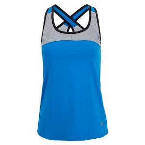 Women`s Electra Racerback Tennis Tank Electric Blue