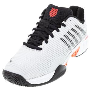 Men`s Hypercourt Express 2 Tennis Shoes Barely Blue and Black