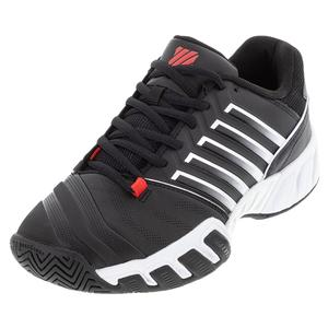 Men`s Bigshot Light 4 Tennis Shoes Black and White