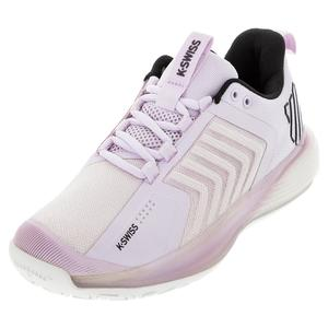 Women`s Ultrashot 3 Tennis Shoes Orchid Ice and Blanc de Blanc