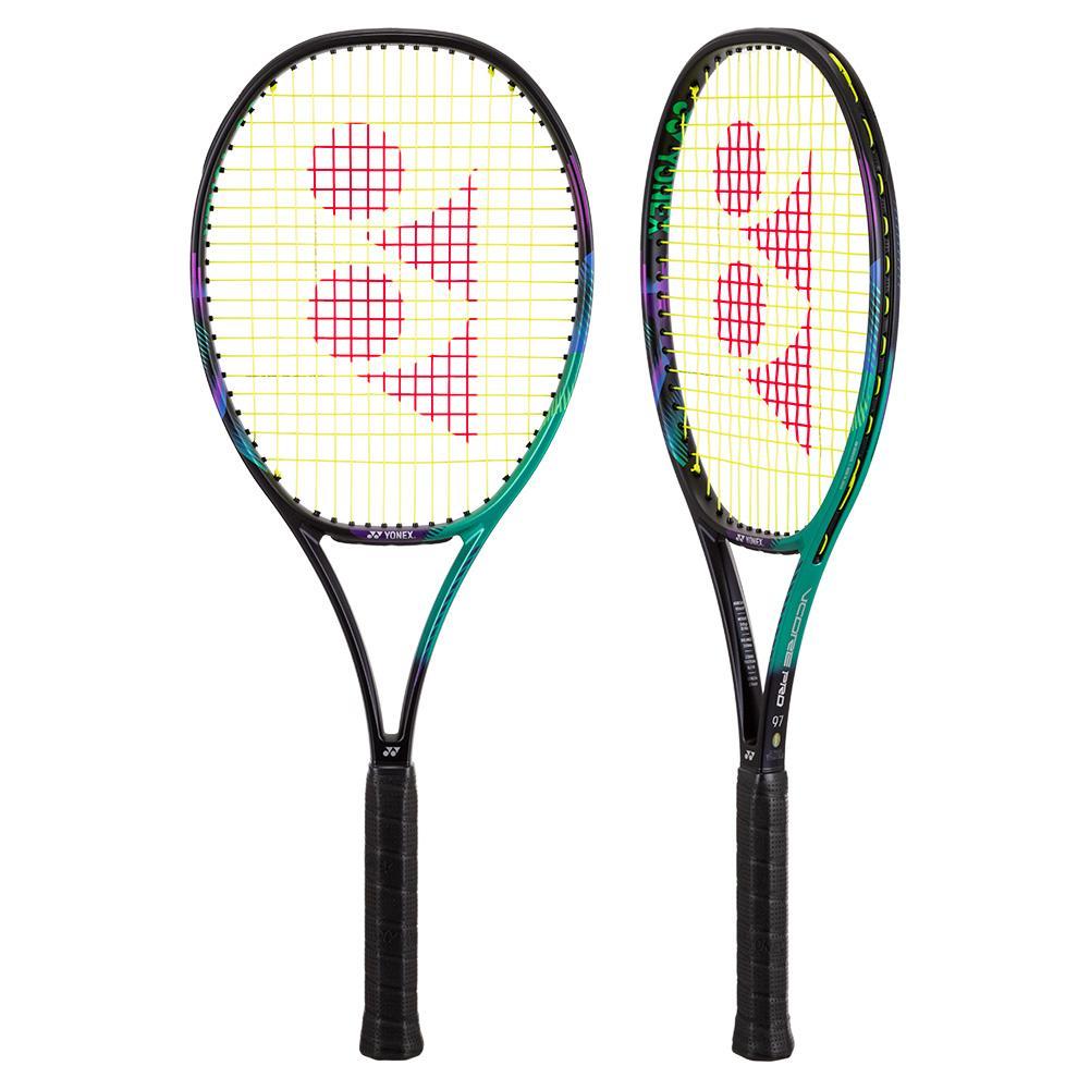 Vcore Pro 97 Demo Tennis Racquet Green And Purple