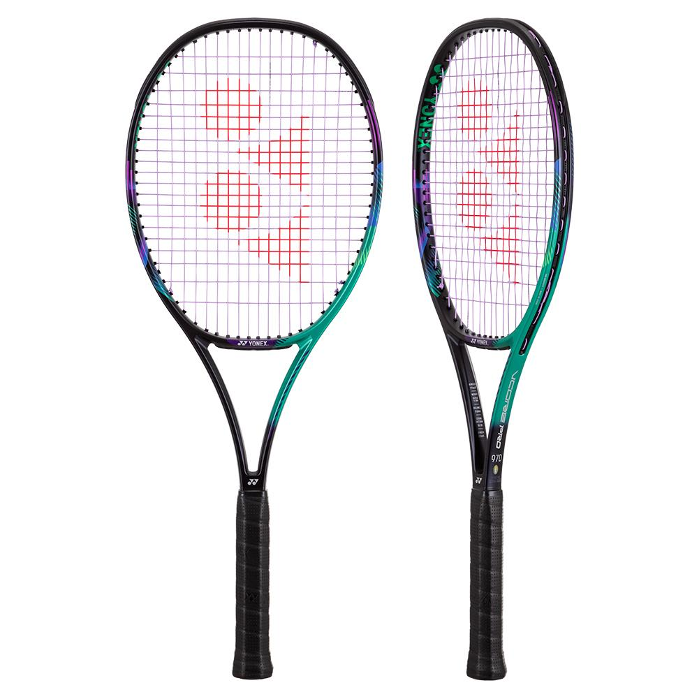 Vcore Pro 97d Demo Tennis Racquet Green And Purple