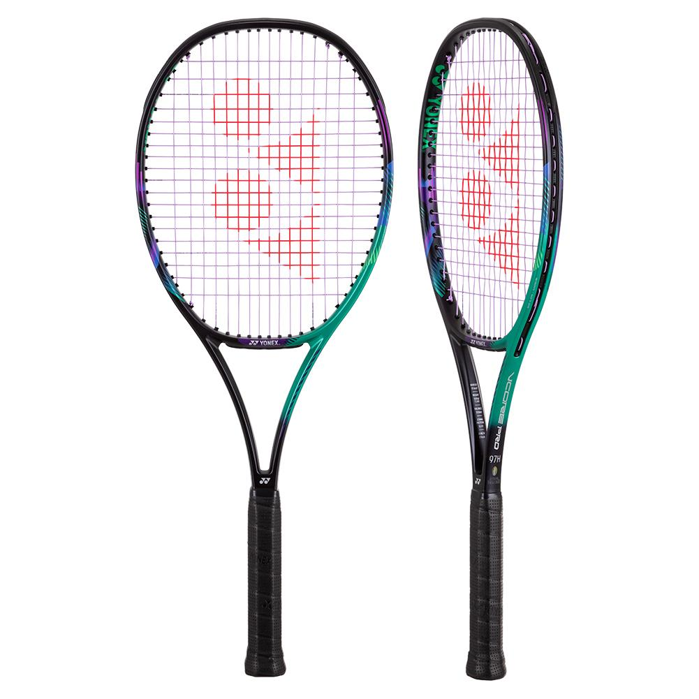 Vcore Pro 97h Demo Tennis Racquet Green And Purple