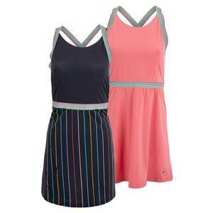 Women`s Cross Court Cross Back Tennis Dress