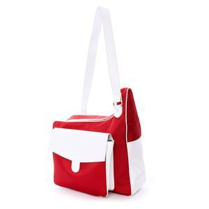 Red Sport Messenger Tennis Bag