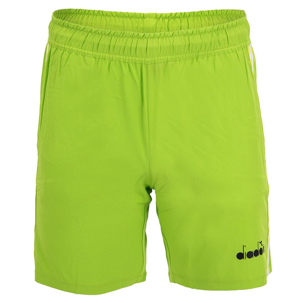 Men's Bermuda Micro Tennis Short Lime Green