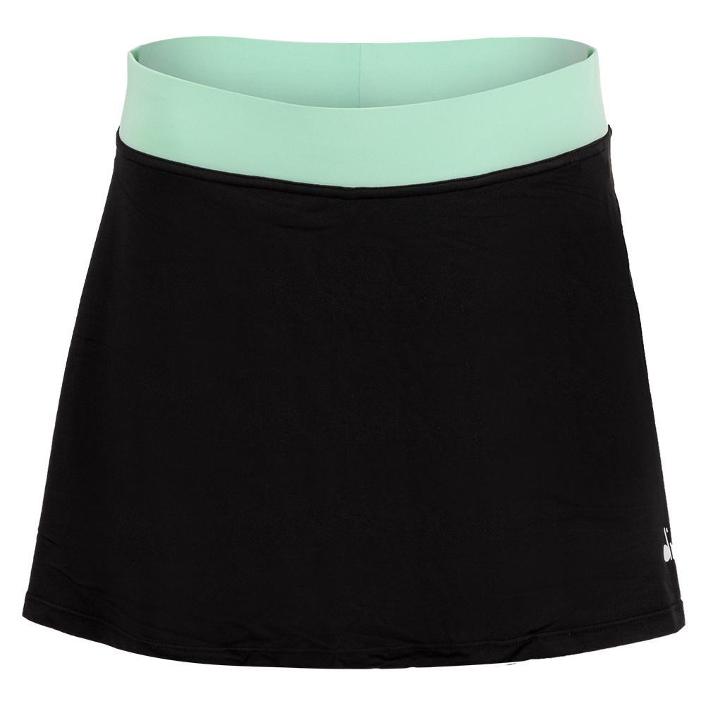 Women's Easy Tennis Skort Black