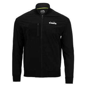 Men`s Challenge Full Zip Tennis Jacket Black