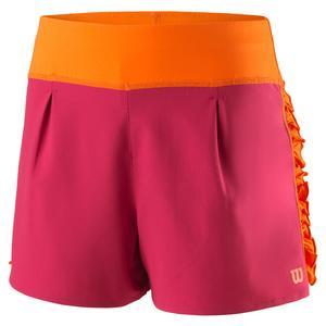 Girls` Core 2.5 Inch Tennis Short Granita