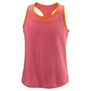 Girls` Competition Tennis Tank II Granita and Sunrise Orange