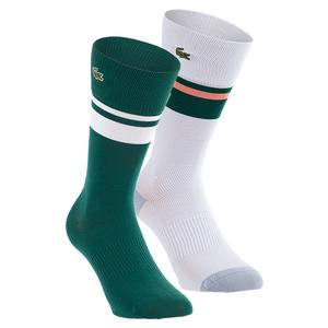 Men`s Color Block Tennis Tube Socks