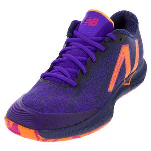 Men`s FuelCell 996v4.5 D Width Tennis Shoes Black and Deep Violet