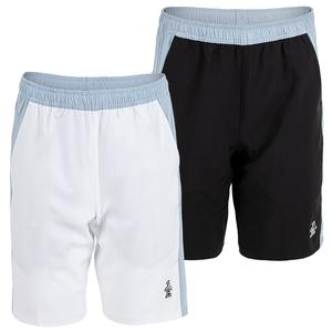 Men`s 4-Way Stretch Color Block Tennis Short