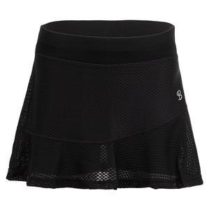 Women`s 13 Inch Tennis Skort Black