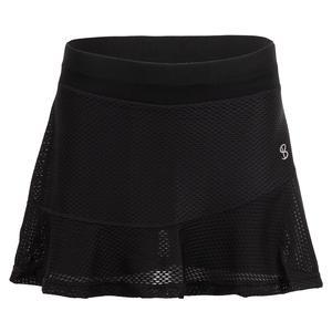 Women`s 14 Inch Tennis Skort Black