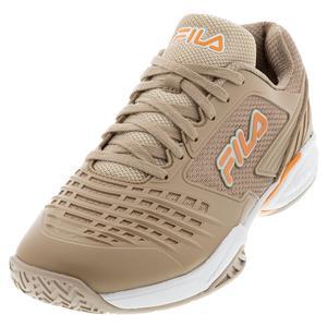Men`s Axilus 2.5 Energized Tennis Shoes Stucco and Muskmelon