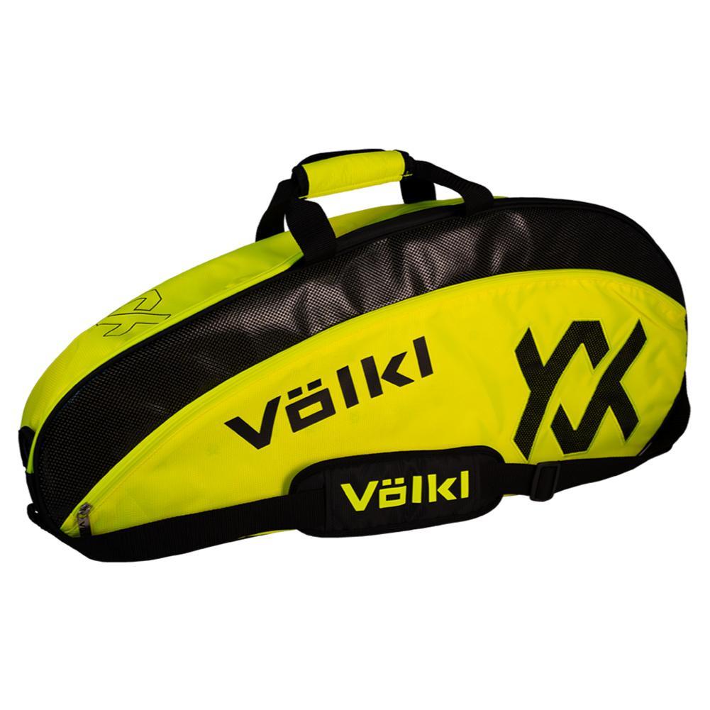 Tour Pro Tennis Bag Neon Yellow And Black