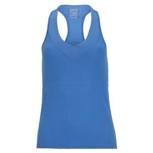 Women`s Wavy V-Neck Tennis Tank with Bra Bluemarine
