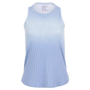 Women`s Looking Gradient Tennis Tank Bluemarine
