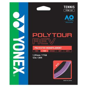 POLYTOUR REV Tennis String Purple