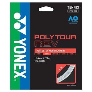 POLYTOUR REV Tennis String White
