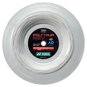 POLYTOUR REV Tennis String Reel White
