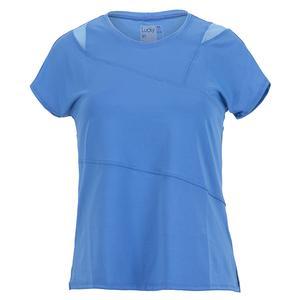 Women`s Love You To Pieces Short Sleeve Tennis Top Bluemarine