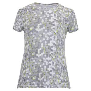 Women`s UV Short Sleeve Tennis Top Techno