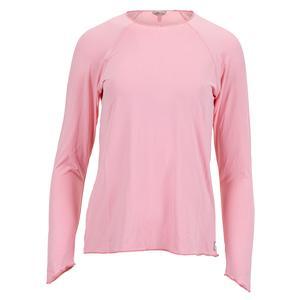 Women`s Sun Protector Extreme Tennis Top Light Pink