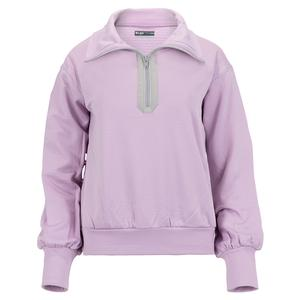 Women`s Title Pullover Tennis Top Lavender