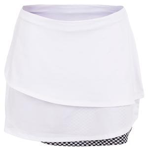 Women`s Palm Springs Tennis Skort White