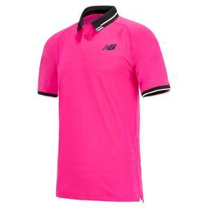 Men`s Tournament Tennis Polo Pink Glo