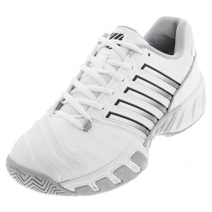 Men`s Bigshot Light 4 Tennis Shoes White and High-Rise