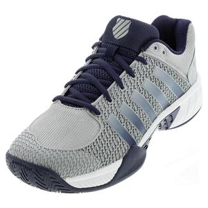 Men`s Express Light Wide Pickleball Shoes Highrise and White