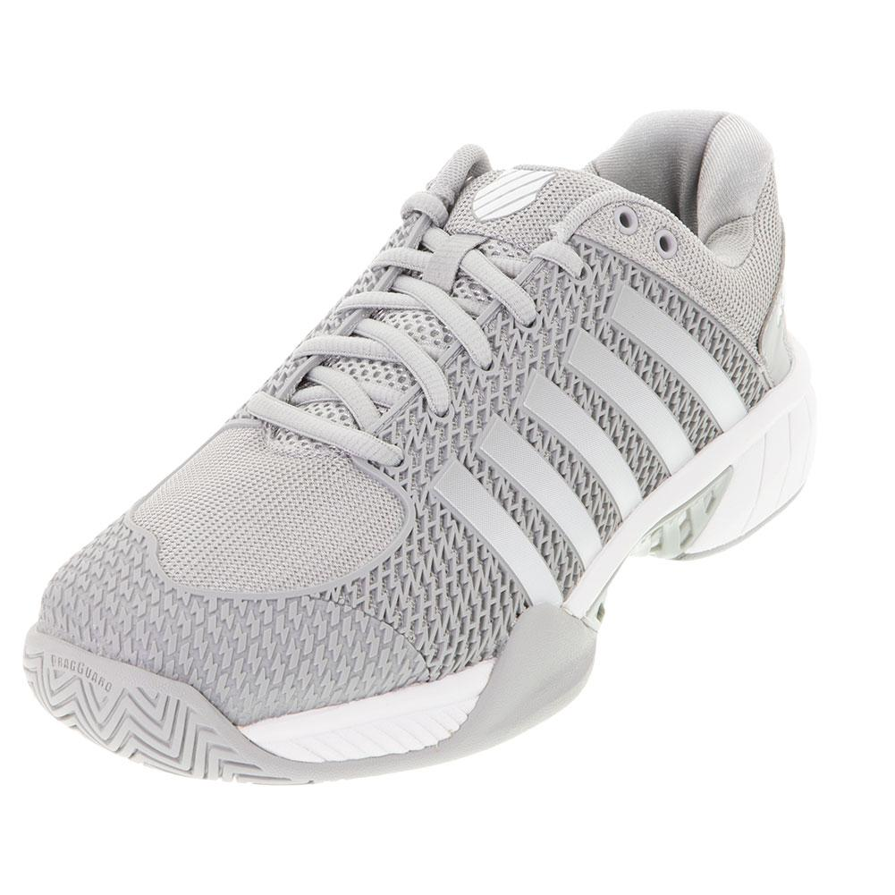 Women's Express Light Wide Pickleball Shoes Highrise And White