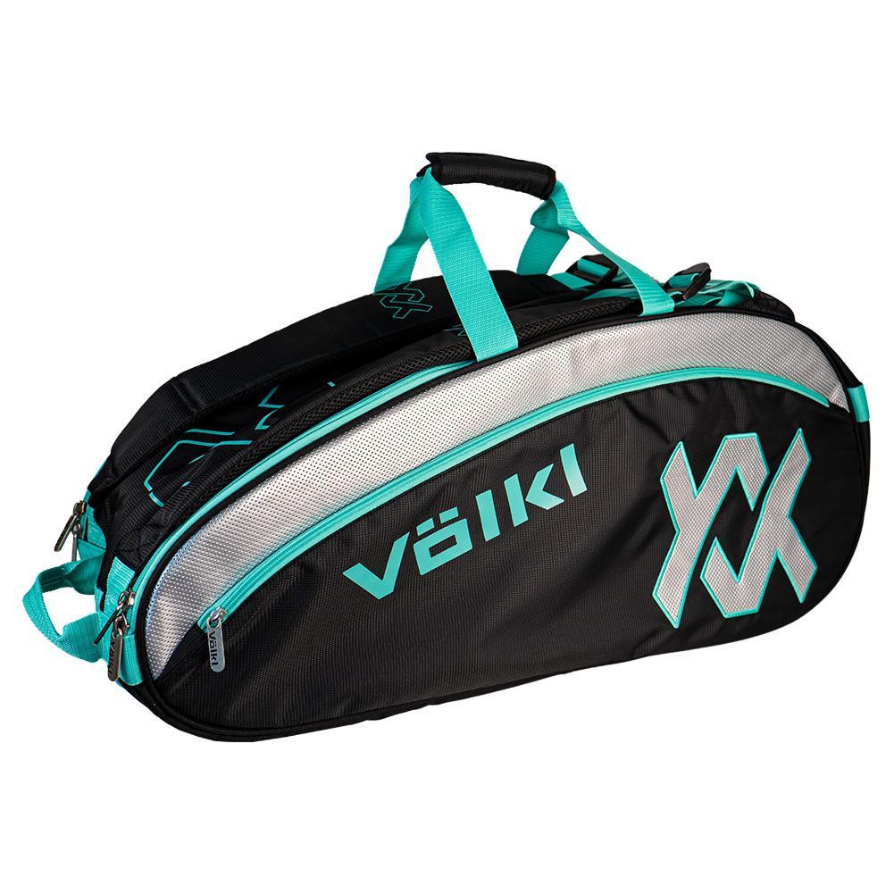 Tour Combi Tennis Bag Black And Turquoise