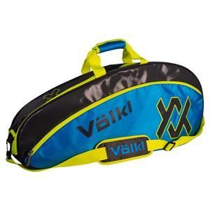 Tour Pro Tennis Bag Charcoal and Neon Blue