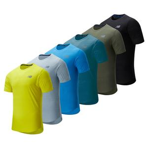 Men`s Q Speed Jacquard Short Sleeve Top